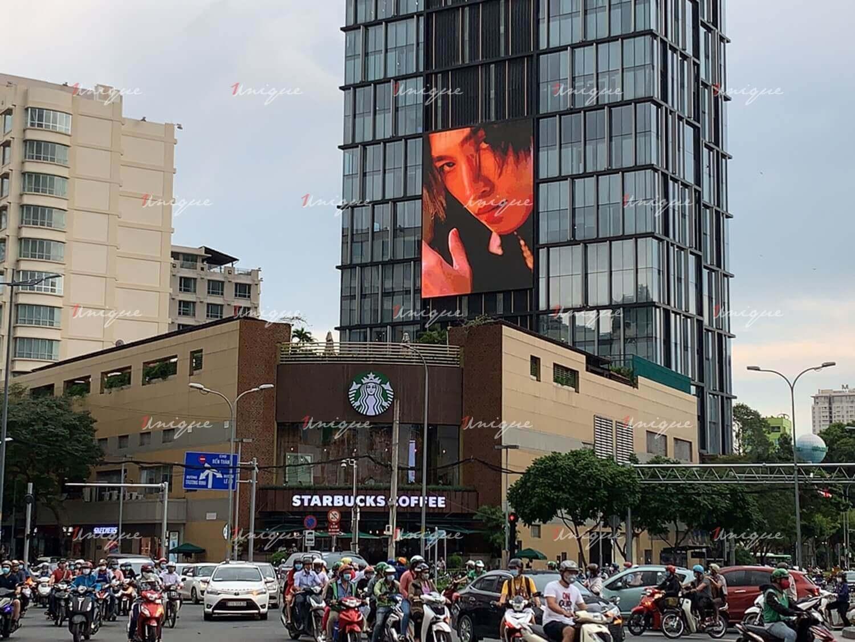 uni5 quảng cáo trên màn Led a&b tower