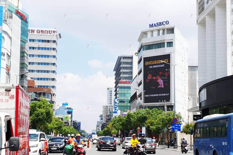 V.I.P quảng cáo màn hình Led ngoài trời kỷ niệm Bigbang 13 năm hoạt động