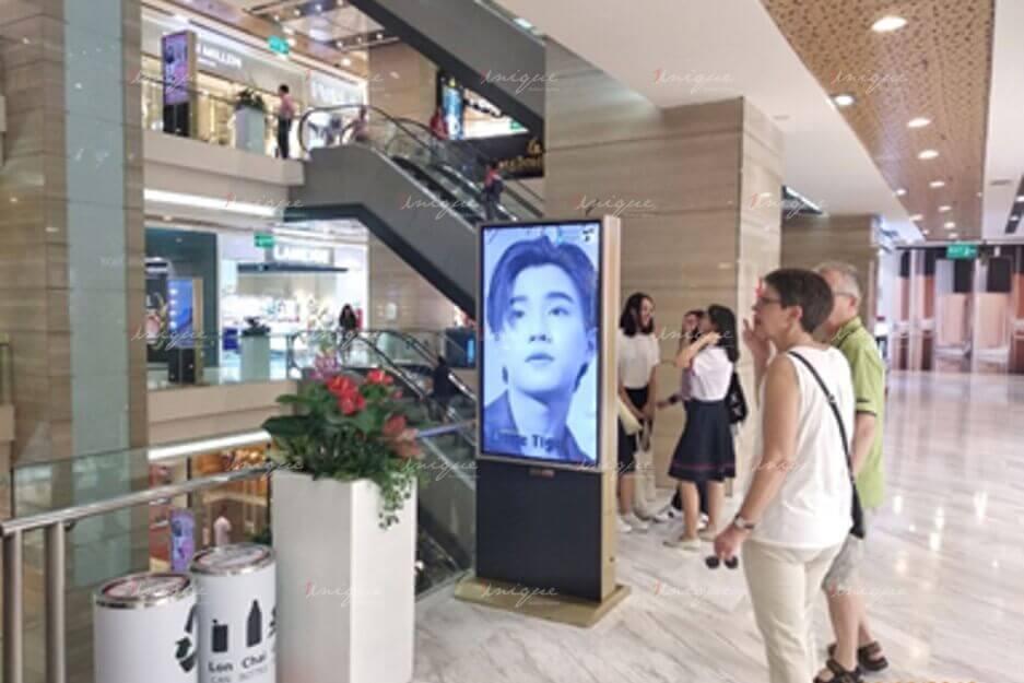 Project quảng cáo LCD quảng bá idol Thái Lan Perth Tanapon