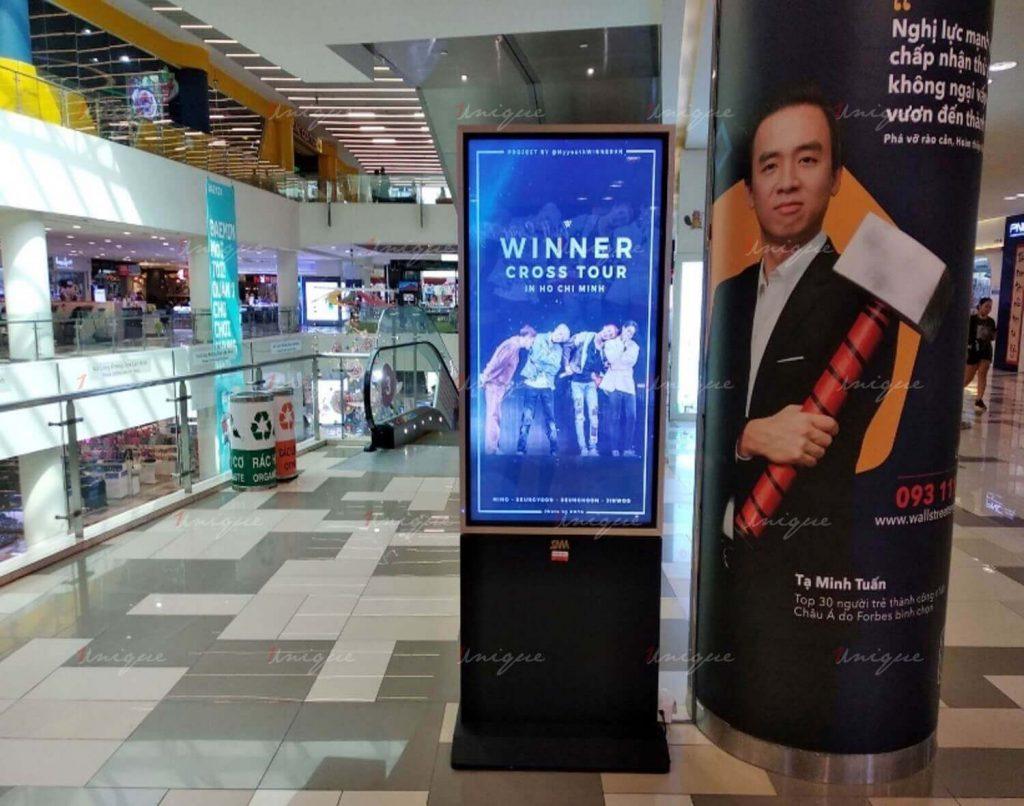 Chiến dịch truyền thông quảng bá Winner Cross tour tại Việt Nam