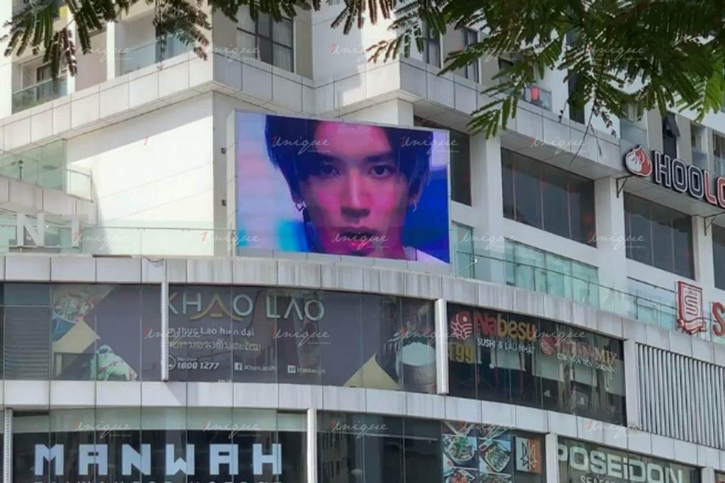 quảng cáo màn hình led chúc mừng sinh nhật taeyong