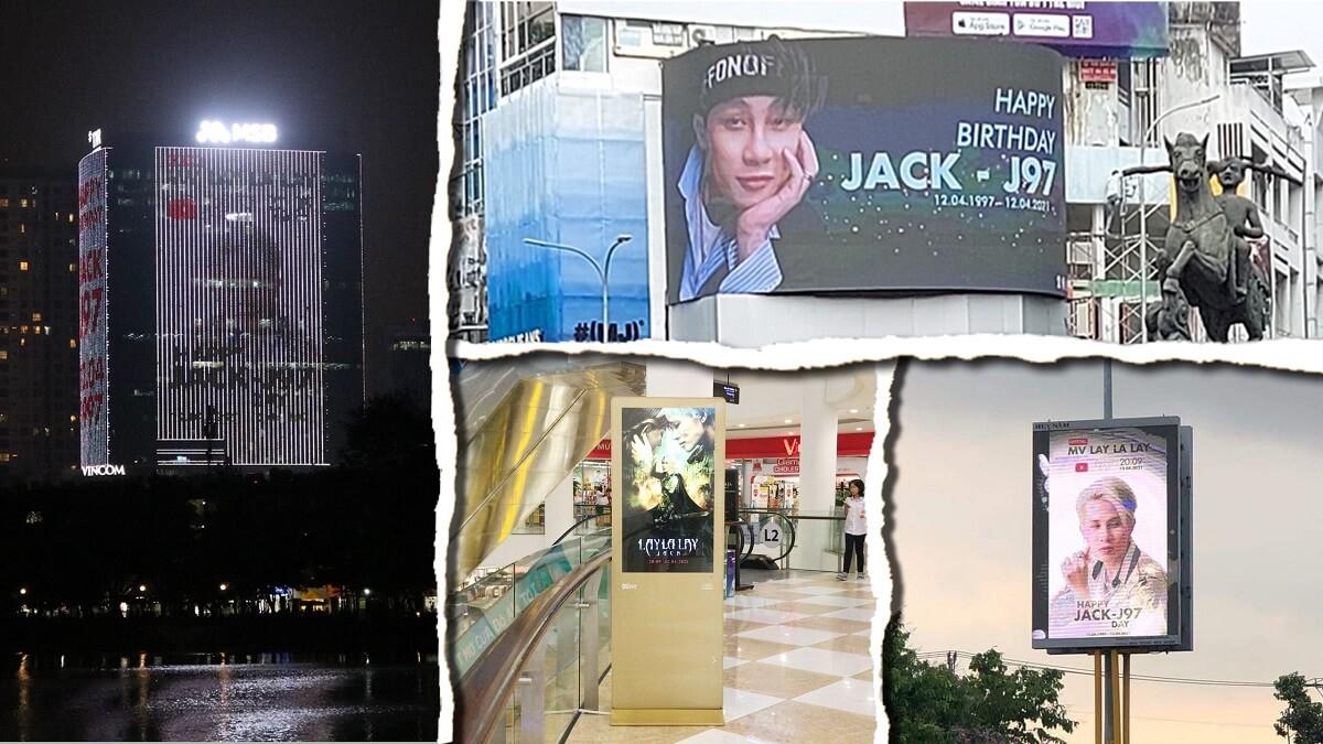 Project truyền thông chúc mừng sinh nhật Jack & MV LayLaLay